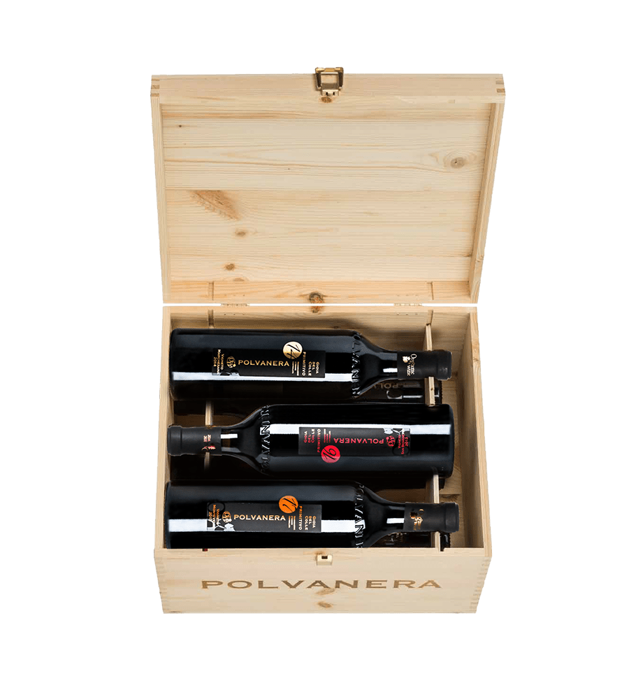 Deluxe Primitivo in Holzkiste